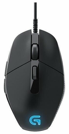 Мышь Logitech G G302 DAEDALUS PRIME Black USB