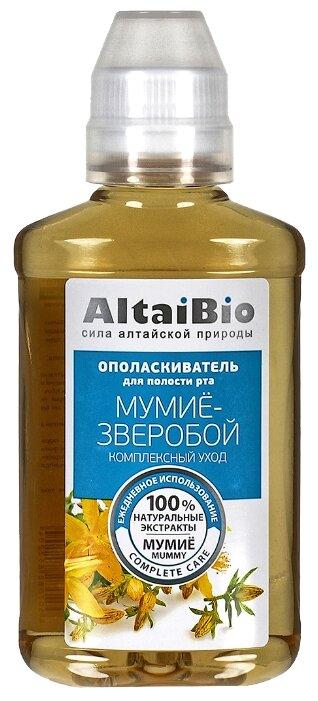 AltaiBio Ополаскиватель для полости рта Мумиё Зверобой,