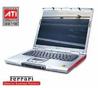 Ноутбук Acer FERRARI 3400 (Athlon XP-M 3000 1800 Mhz/15.0