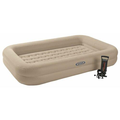 Надувной матрас Intex Kidz Travel Bed Set бежевый