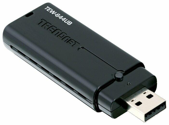 Wi-Fi адаптер TRENDnet TEW-644UB