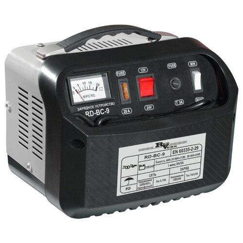 Зарядное устройство RedVerg RD-BC-9 черный/серый