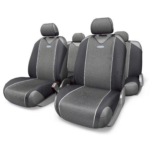 цена на Комплект чехлов AUTOPROFI CRB-802 черный/серый
