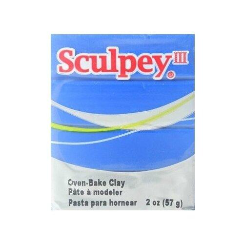 Купить Полимерная глина Sculpey III 063 (голубой), 57г, Глина