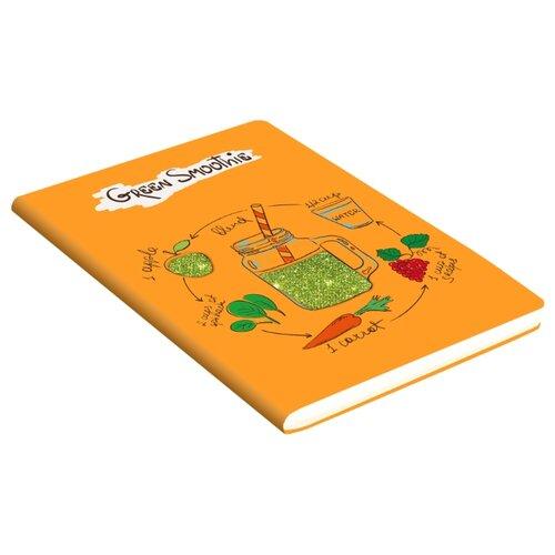 Блокнот Канц-Эксмо Paper Art. GET GLITTER! В6, 80 листов (БГЛ6802975) канц эксмо тетрадь мировые достопримечательности 96 листов в клетку цвет коричневый
