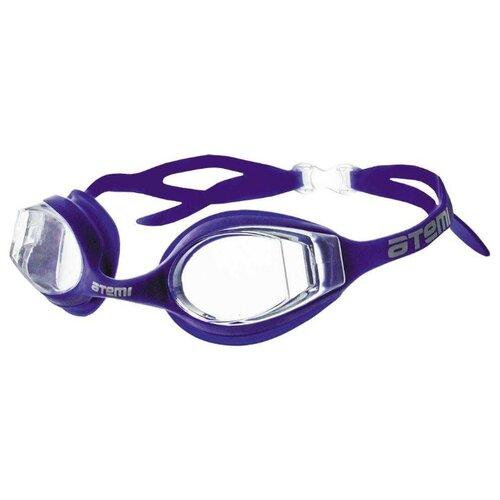 Фото - Очки для плавания ATEMI N8401 синий очки маска для плавания atemi z401 z402 синий серый