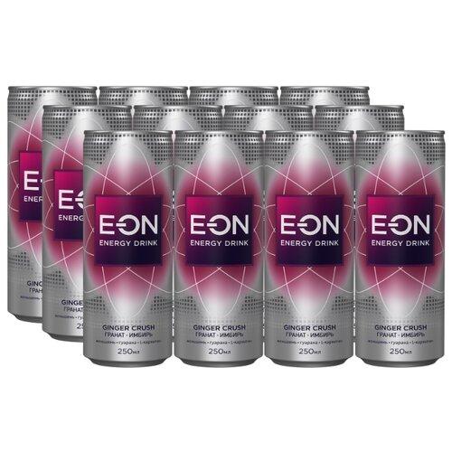 Энергетический напиток E-ON Ginger Crush, 0.25 л, 12 шт.