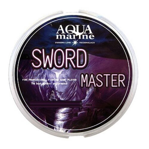 Монофильная леска AQUA MARINE SWORD MASTER светло-серая 0.202 мм 100 м 5.03 кгЛеска и шнуры<br>