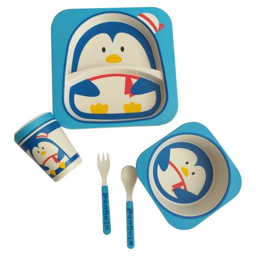 Комплект посуды Baby Ryan BF001 пингвин