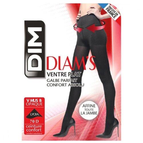 Колготки DIM Diam's Ventre plat ultra opaque 70 den, размер 1/2, noir (черный) fra0109 plat sv0108 2