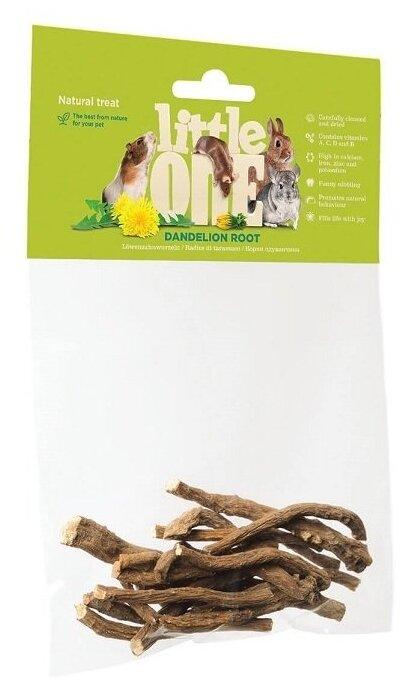 Лакомство для кроликов, грызунов Little One Dandelion root