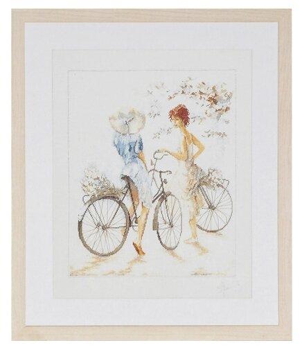 Lanarte Набор для вышивания Велосипедистки 39
