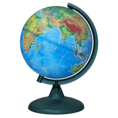 Фото - Глобус физический Глобусный мир 210 мм (10006) глобус физический глобусный мир 250 мм 10160 бирюзовый
