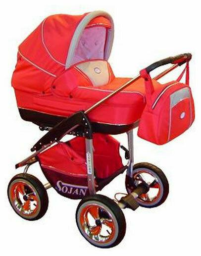 Коляска для новорожденных Sojan Comfort