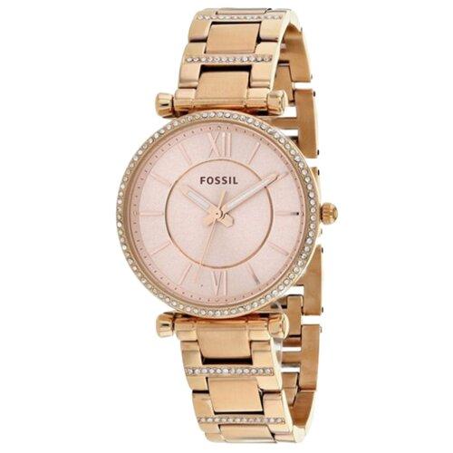 цена Наручные часы FOSSIL ES4301 розовое золото онлайн в 2017 году