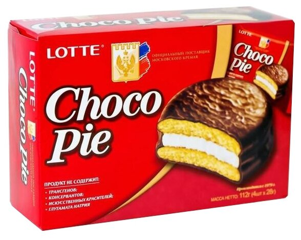 Пирожное Lotte Confectionery Choco Pie