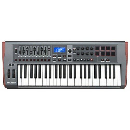 MIDI-клавиатура Novation Impulse 49 серый