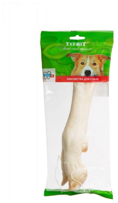 Лакомство для собак Titbit Нога баранья большая, 100 г