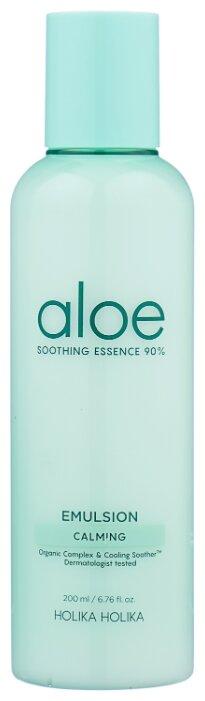 Holika Holika Aloe Soothing Essence 90% Emulsion Увлажняющая эмульсия для лица — купить по выгодной цене на Яндекс.Маркете