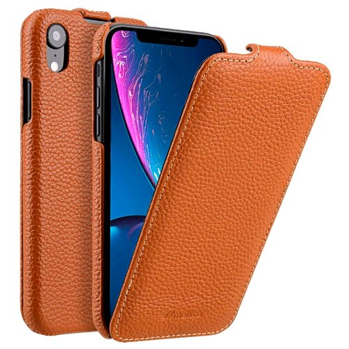 Чехол Melkco Jacka Type для Apple iPhone Xr оранжевыйЧехлы<br>