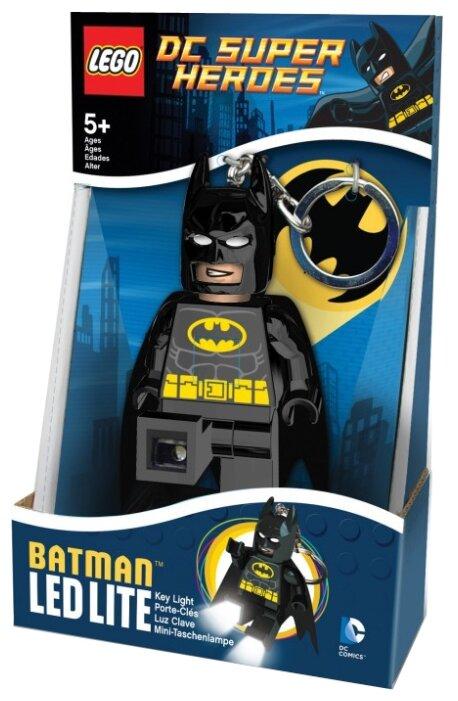 Брелок-фонарик LEGO LGL-KE26, черный/желтый