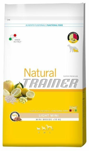Корм для собак TRAINER Natural Adult Mini Light dry (0.8 кг)