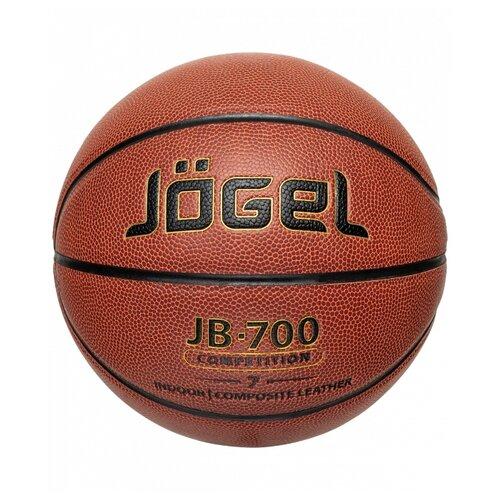 Баскетбольный мяч Jogel JB-700 №7, р. 7 коричневый мяч jogel jb 700 7 ут 00009331