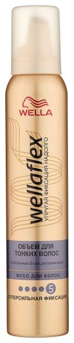 Wella мусс Wellaflex Объём для тонких волос