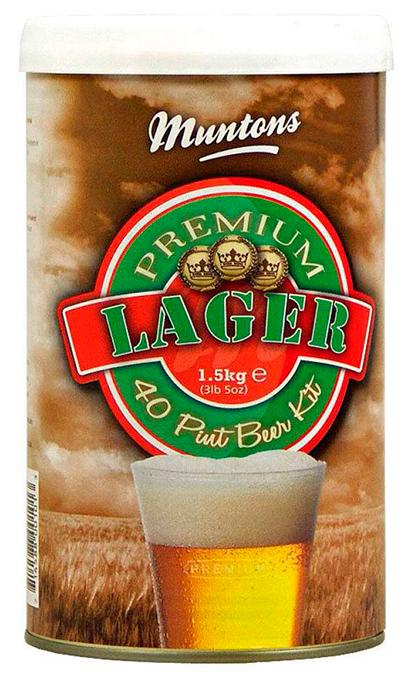 Пивной солодовый концентрат Muntons, Premium Lager