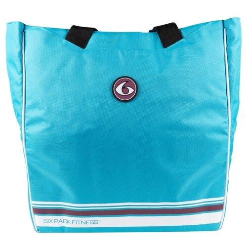 Six Pack Fitness Женская сумка Camille Tote голубой/бордовый 45 лСумки-холодильники<br>