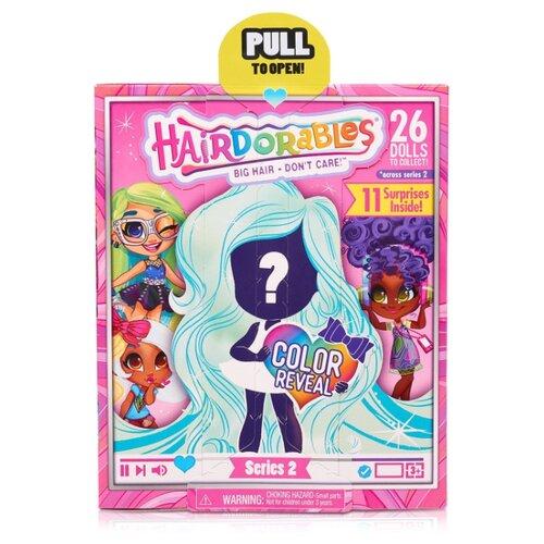Кукла-загадка Hairdorables Модные образы Серия 2 23613.