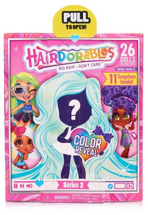 Кукла-загадка Hairdorables Модные образы Серия 2