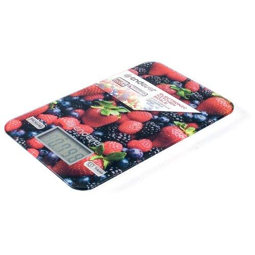 Кухонные весы ENDEVER KS-528 красный/черный весы кухонные atlanta красный с чашей