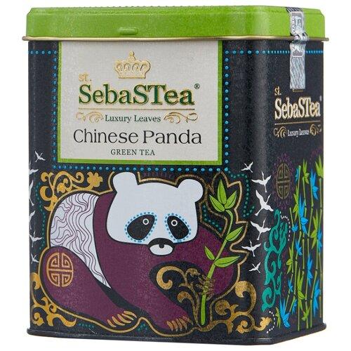 Чай зеленый SebaSTea Chinese panda, 100 г чай листовой зеленый sebastea chinesse dragon 100 г
