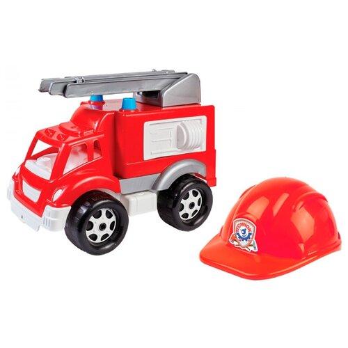 Фото - Пожарный автомобиль ТехноК Малыш (3978) 36 см красный каталки технок автомобиль для прогулок т6665