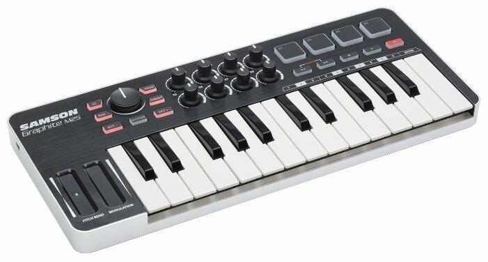 MIDI-клавиатура Samson Graphite M25