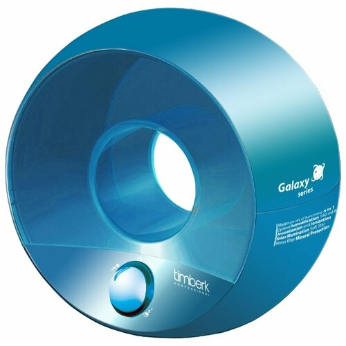 Увлажнитель воздуха Timberk THU UL 09 (BU), голубой увлажнитель воздуха timberk thu ul 15 m m3 зеленый