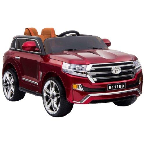 Купить RiverToys Автомобиль Toyota B111BB, вишневый, Электромобили