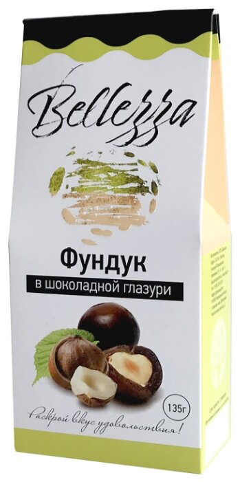 Jaazz Фундук Bellezza в шоколадной глазури