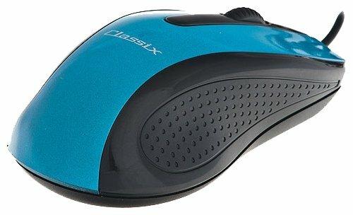 Мышь Classix UM-0211 Blue-Black USB