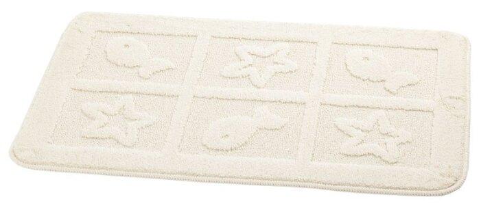 Махровый коврик в ванную 60x100 см Karna Delux Damask 109/CHAR001