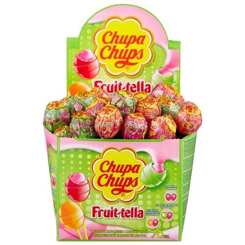 Карамель Chupa Chups Fruit-Tella ассорти, 1190 г