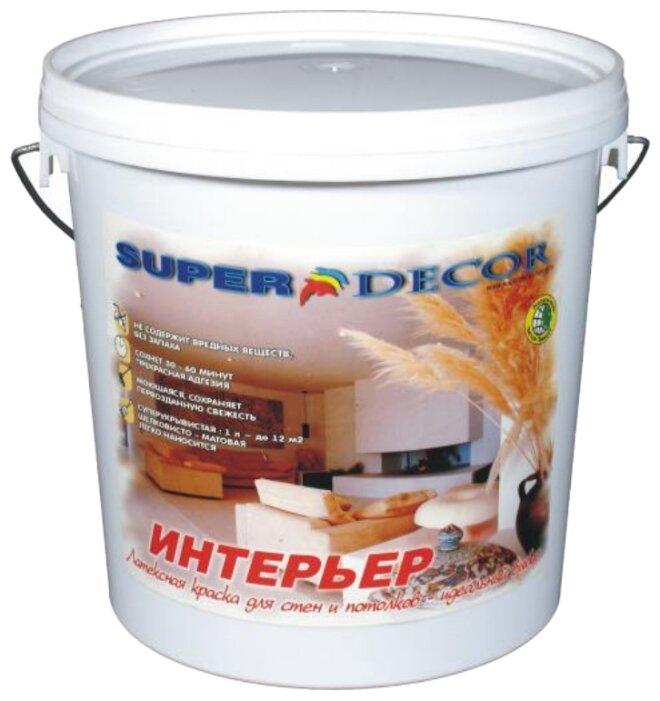 Краска акриловая Super Decor Оптимал для наружных работ матовая