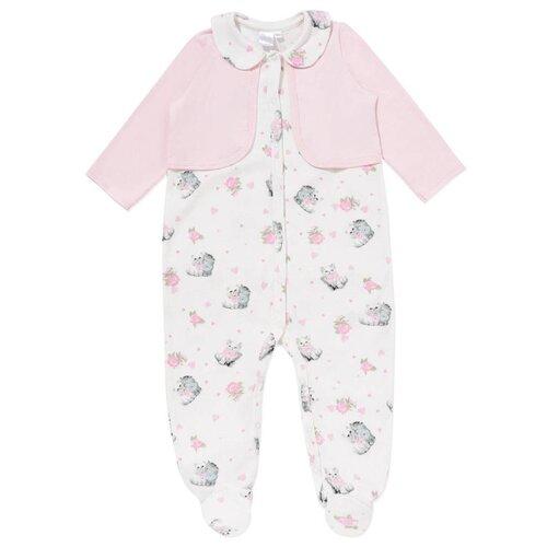 Комбинезон Linas Baby 851-1 размер 50 (0), молочныйКомбинезоны<br>