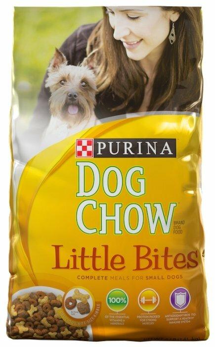 Корм для собак DOG CHOW Little Bites 14.51 кг (для мелких пород)