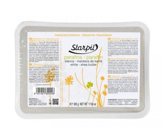 Парафин Starpil Белый с маслом карите