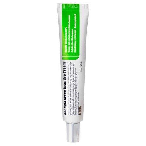 Purito Крем для век Centella Green Level Eye Cream 30 мл purito бесспиртовой успокаивающий тонер для лица с центеллой азиатской centella green level calming toner 200 мл