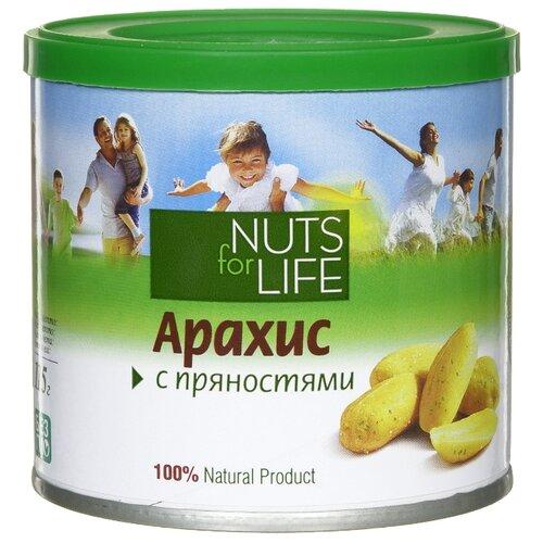 Арахис Nuts for Life c пряностями 115 г