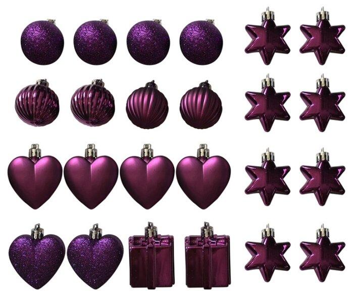 Набор елочных игрушек Волшебная страна Ассорти 007441-007443