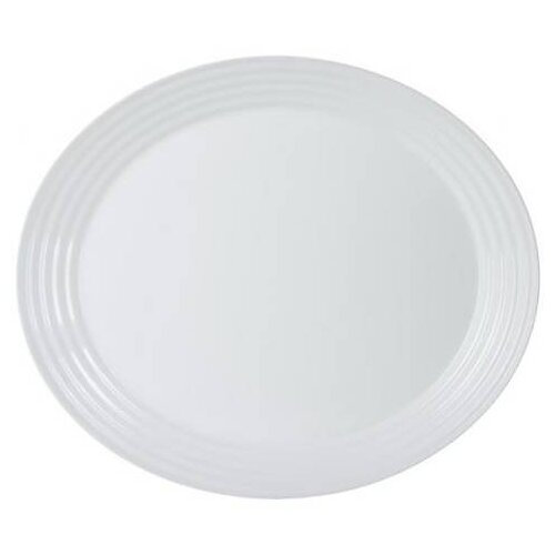 Luminarc Блюдо овальное Harena 33 см white